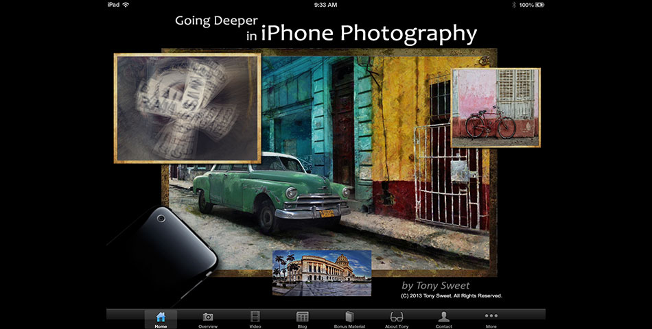Tony Sweet - Going Deeper in iPhone Photography