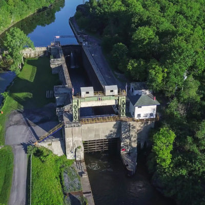 Lock 17 in Little Falls New York