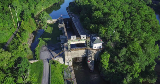 Lock 17 in Little Falls New York